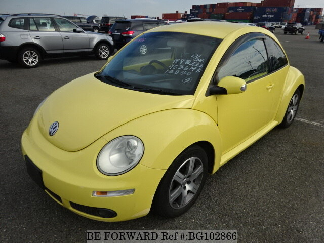 Used 2006 VOLKSWAGEN NEW BEETLE BG102866 for Sale