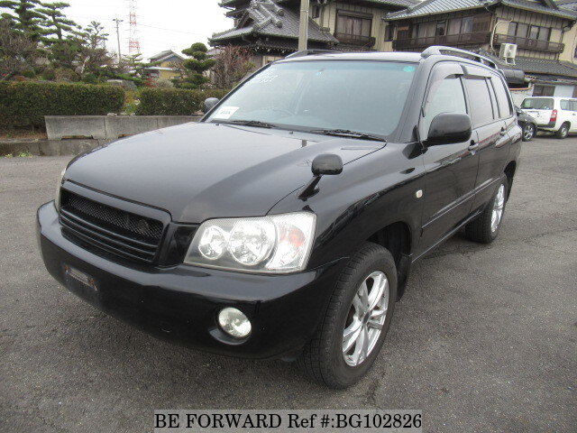 Used 2001 TOYOTA KLUGER BG102826 for Sale