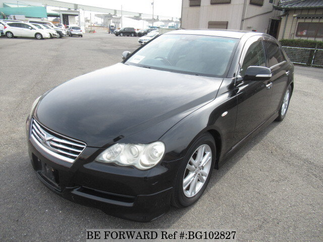 Used 2005 TOYOTA MARK X BG102827 for Sale