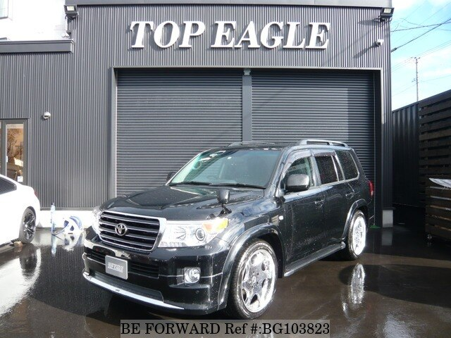 Used 2009 TOYOTA LAND CRUISER BG103823 for Sale