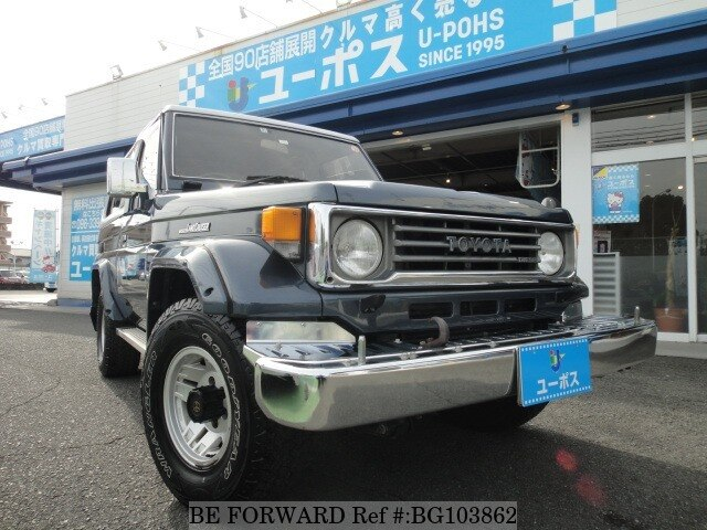 Used 1993 TOYOTA LAND CRUISER BG103862 for Sale