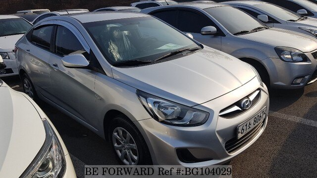 Used 2011 HYUNDAI ACCENT BG104029 for Sale