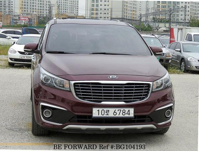 Used 2015 KIA CARNIVAL BG104193 for Sale