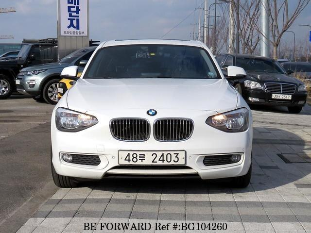 Used 2013 BMW 1 SERIES BG104260 for Sale