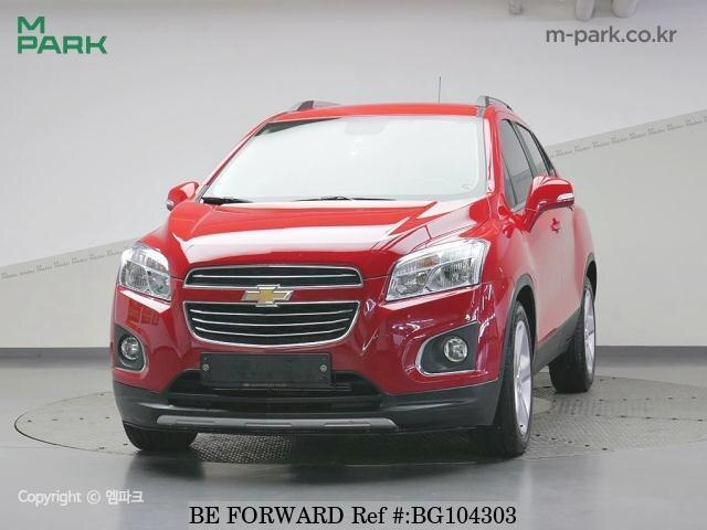 Used 2016 CHEVROLET TRAX BG104303 for Sale