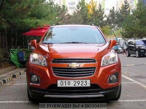 Used 2016 CHEVROLET TRAX BG104309 for Sale