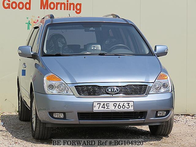 Used 2011 KIA CARNIVAL BG104320 for Sale