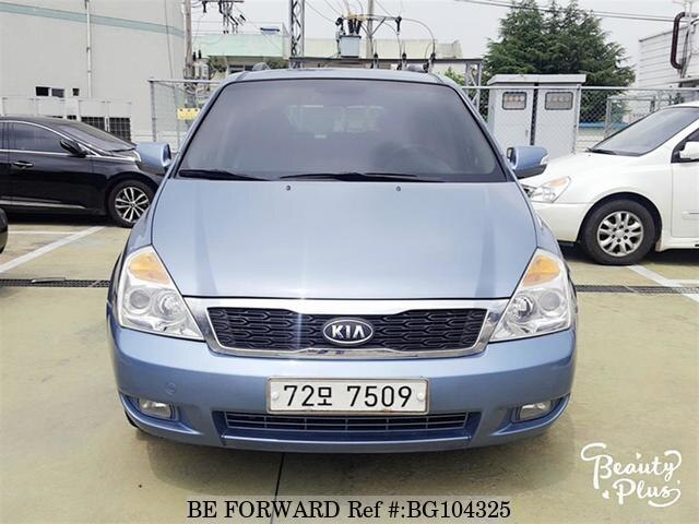 Used 2010 KIA CARNIVAL BG104325 for Sale