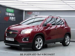 Used 2016 CHEVROLET TRAX BG104357 for Sale