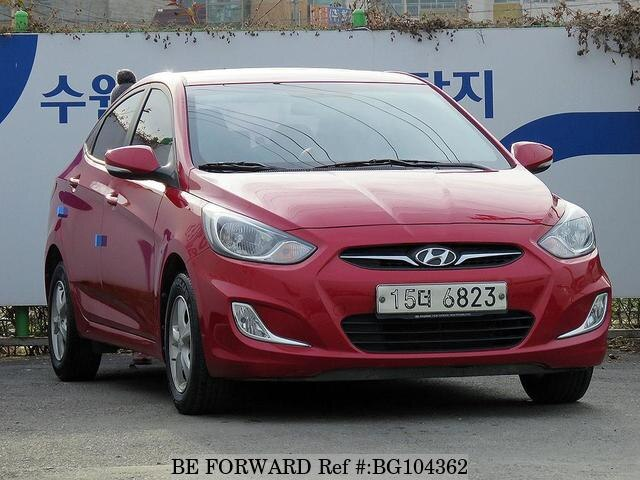 Used 2014 HYUNDAI ACCENT BG104362 for Sale