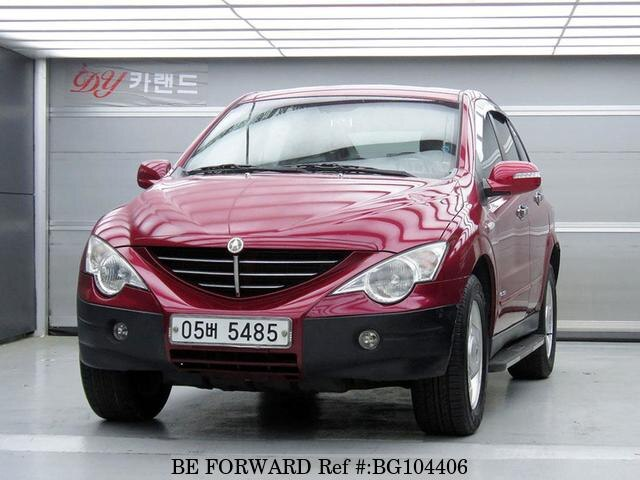 Used 2006 SSANGYONG ACTYON BG104406 for Sale
