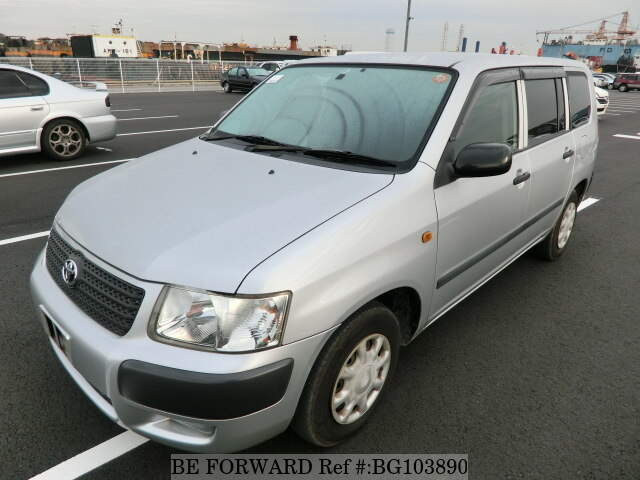 Used 2008 TOYOTA SUCCEED WAGON BG103890 for Sale