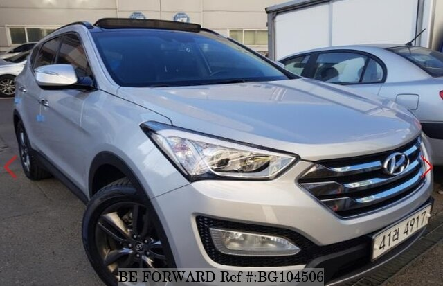 Used 2013 HYUNDAI SANTA FE BG104506 for Sale