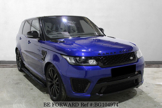 Used 2016 LAND ROVER RANGE ROVER SPORT BG104974 for Sale