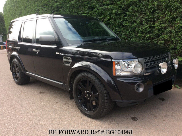 Used 2009 LAND ROVER DISCOVERY 4 BG104981 for Sale