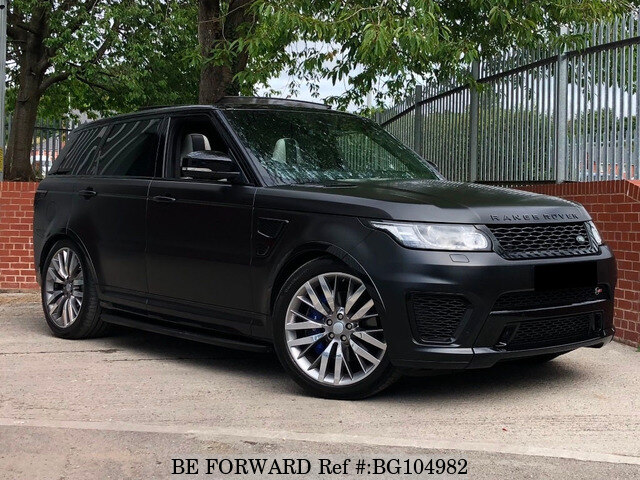 Used 2016 LAND ROVER RANGE ROVER SPORT BG104982 for Sale