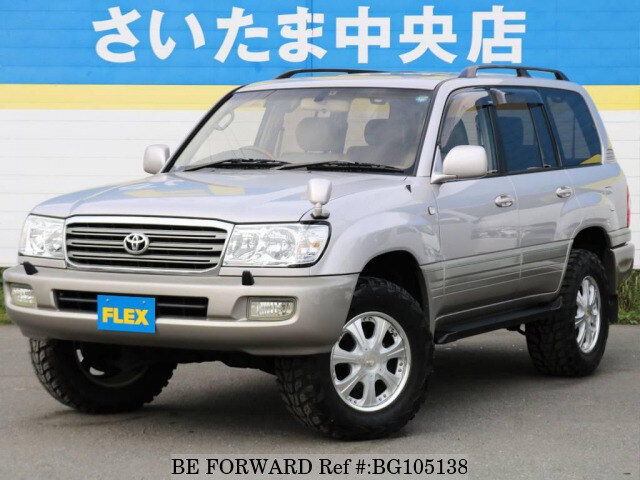 Used 2002 TOYOTA LAND CRUISER BG105138 for Sale