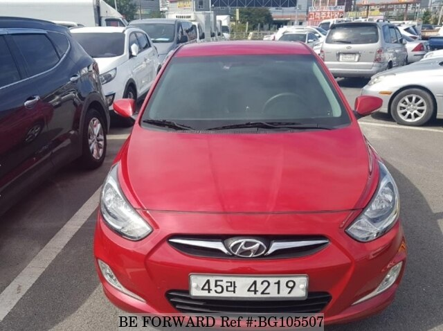 Used 2011 HYUNDAI ACCENT BG105507 for Sale