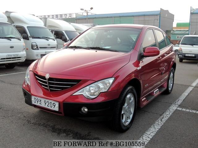 Used 2008 SSANGYONG ACTYON BG105559 for Sale
