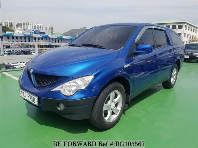 Used 2006 SSANGYONG ACTYON BG105567 for Sale