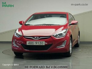 Used 2014 HYUNDAI AVANTE (ELANTRA) BG105569 for Sale