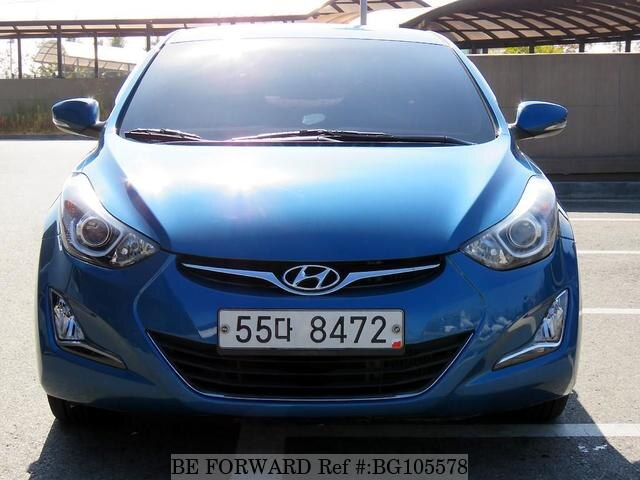 Used 2015 HYUNDAI AVANTE (ELANTRA) BG105578 for Sale