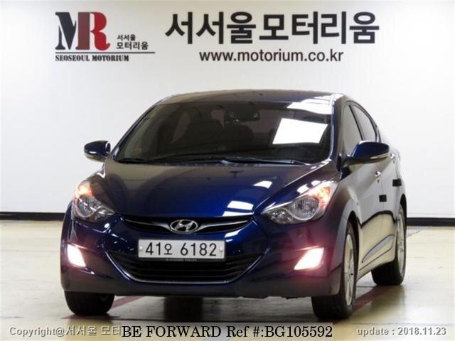 Used 2011 HYUNDAI AVANTE (ELANTRA) BG105592 for Sale