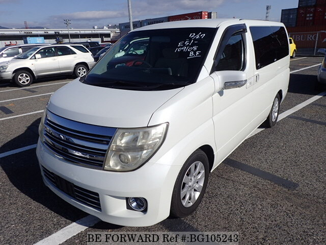 Used 2004 NISSAN ELGRAND BG105243 for Sale