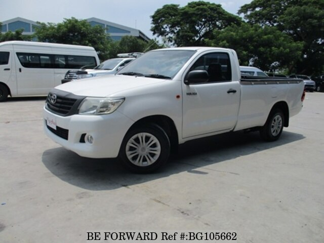 Used 2012 TOYOTA HILUX BG105662 for Sale