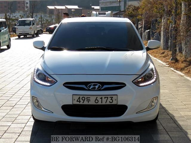 Used 2014 HYUNDAI ACCENT BG106314 for Sale