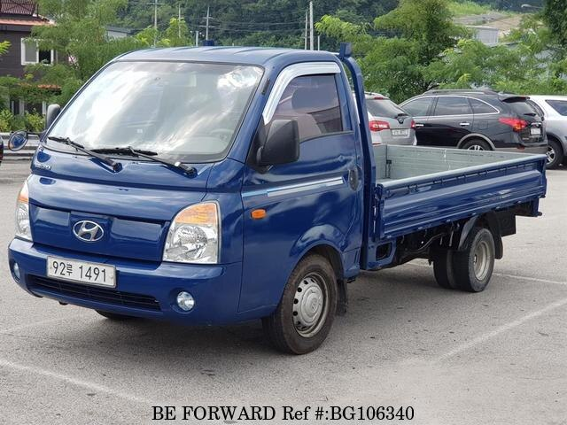 Used 2010 HYUNDAI PORTER BG106340 for Sale