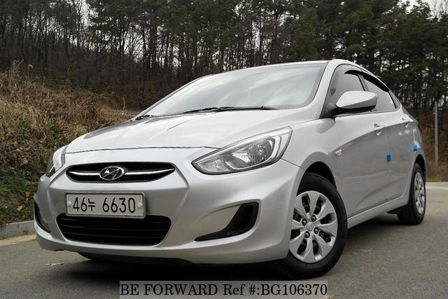 Used 2015 HYUNDAI ACCENT BG106370 for Sale