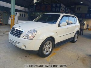 Used 2008 SSANGYONG REXTON BG106425 for Sale