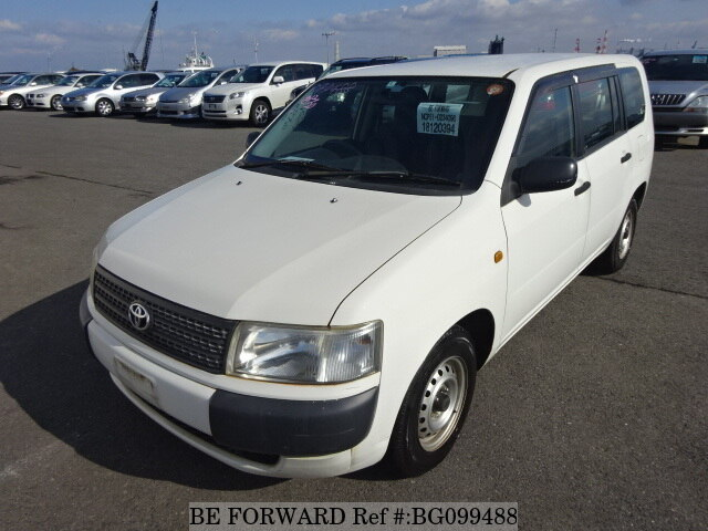 Used 2009 TOYOTA PROBOX VAN BG099488 for Sale