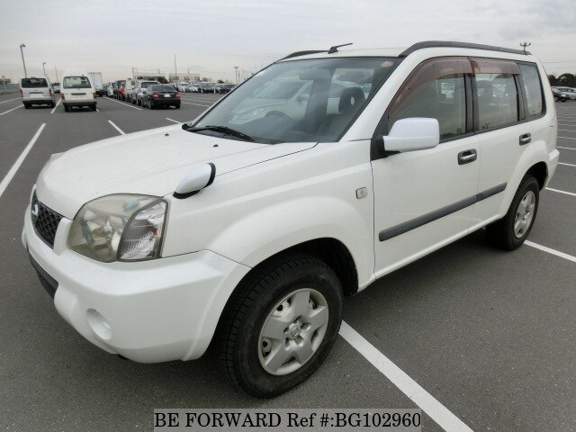 Used 2005 NISSAN X-TRAIL BG102960 for Sale