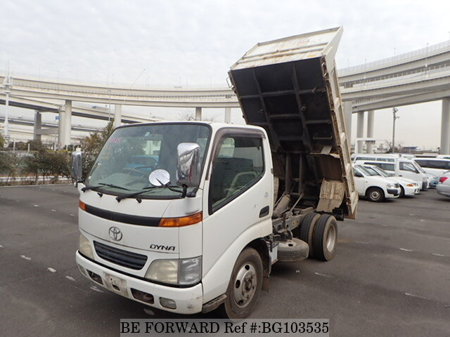 Used 2001 TOYOTA DYNA TRUCK BG103535 for Sale
