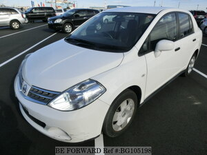 Used 2009 NISSAN TIIDA LATIO BG105198 for Sale