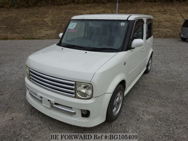 Used 2002 NISSAN CUBE BG105409 for Sale
