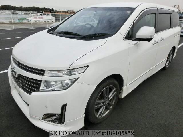 Used 2012 NISSAN ELGRAND BG105852 for Sale
