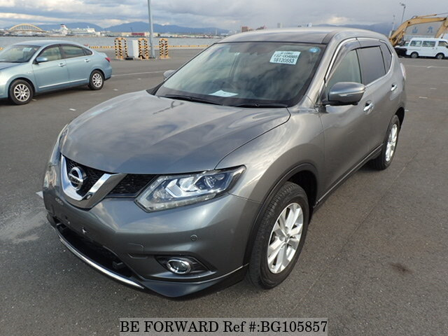 Used 2014 NISSAN X-TRAIL BG105857 for Sale