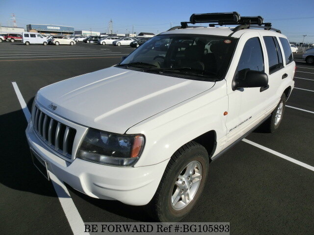 Used 2003 JEEP GRAND CHEROKEE BG105893 for Sale