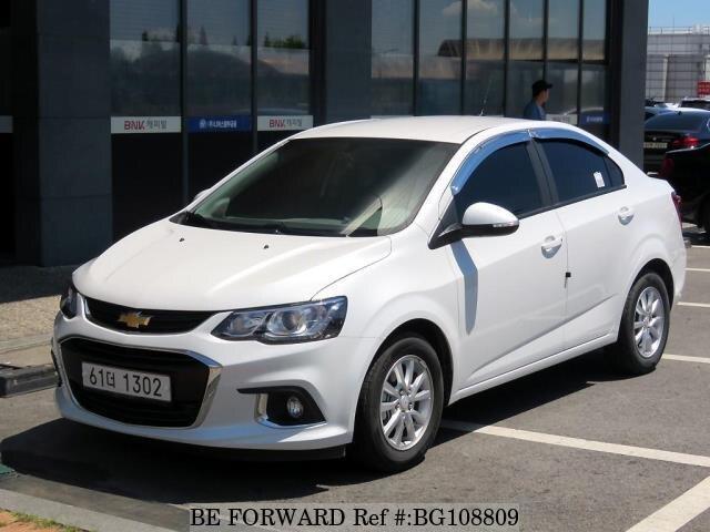 Used 2017 Chevrolet Aveo For Sale Bg108809 Be Forward