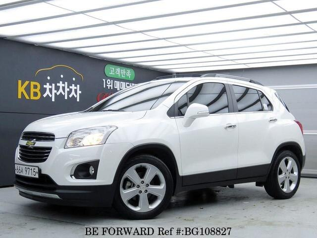 Used 2016 Chevrolet Trax For Sale Bg108827 Be Forward