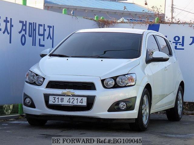 2014 Chevrolet Aveo Doccasion En Promotion Bg109045 Be Forward