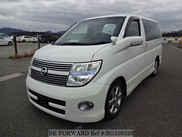 Used 2008 NISSAN ELGRAND BG109329 for Sale