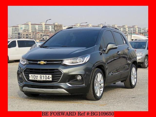 Used 2017 Chevrolet Trax For Sale Bg109650 Be Forward