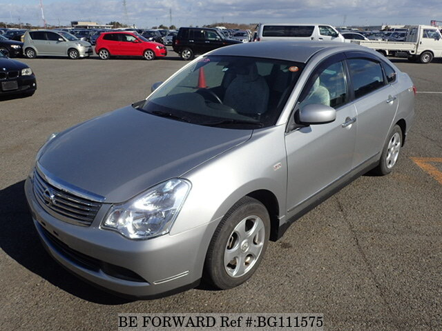 Used 2006 NISSAN BLUEBIRD SYLPHY BG111575 for Sale