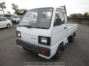Used 1989 SUZUKI CARRY TRUCK BG111608 for Sale
