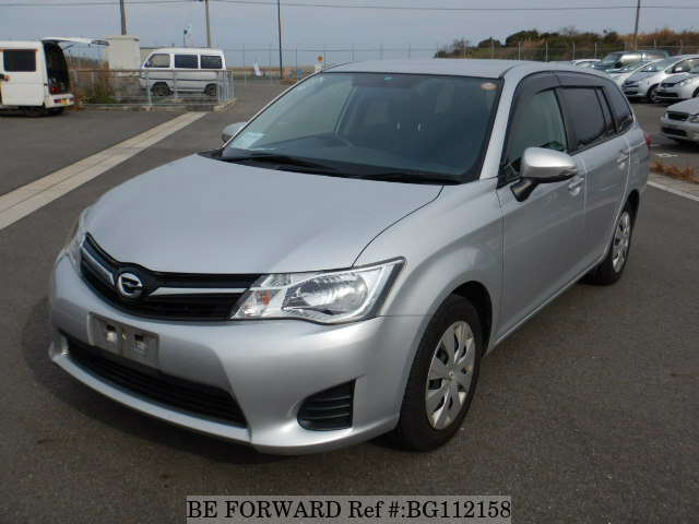 Used 2013 TOYOTA COROLLA FIELDER BG112158 for Sale