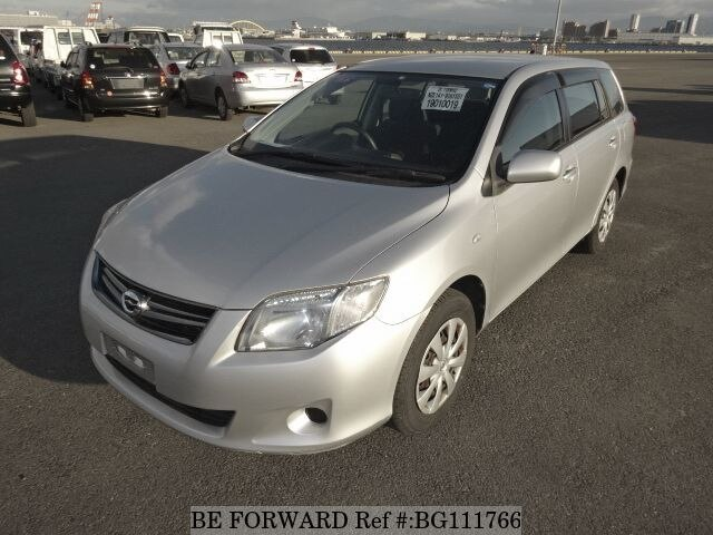 Used 2011 TOYOTA COROLLA FIELDER BG111766 for Sale
